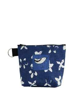 Pouch Bird Blue