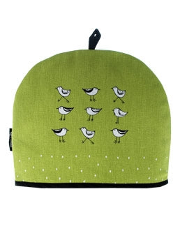 Tea Cozy Birds Green