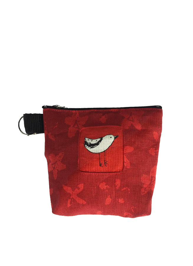 Pouch Bird Red