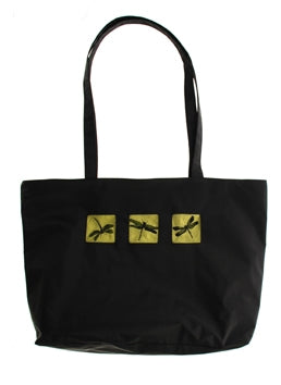 Tote Dragon Fly Green