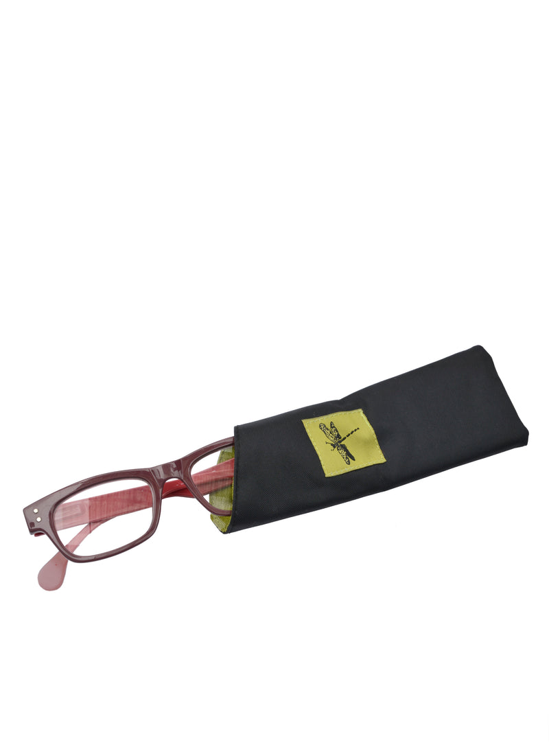 Eyeglass Cases Dragonfly Green