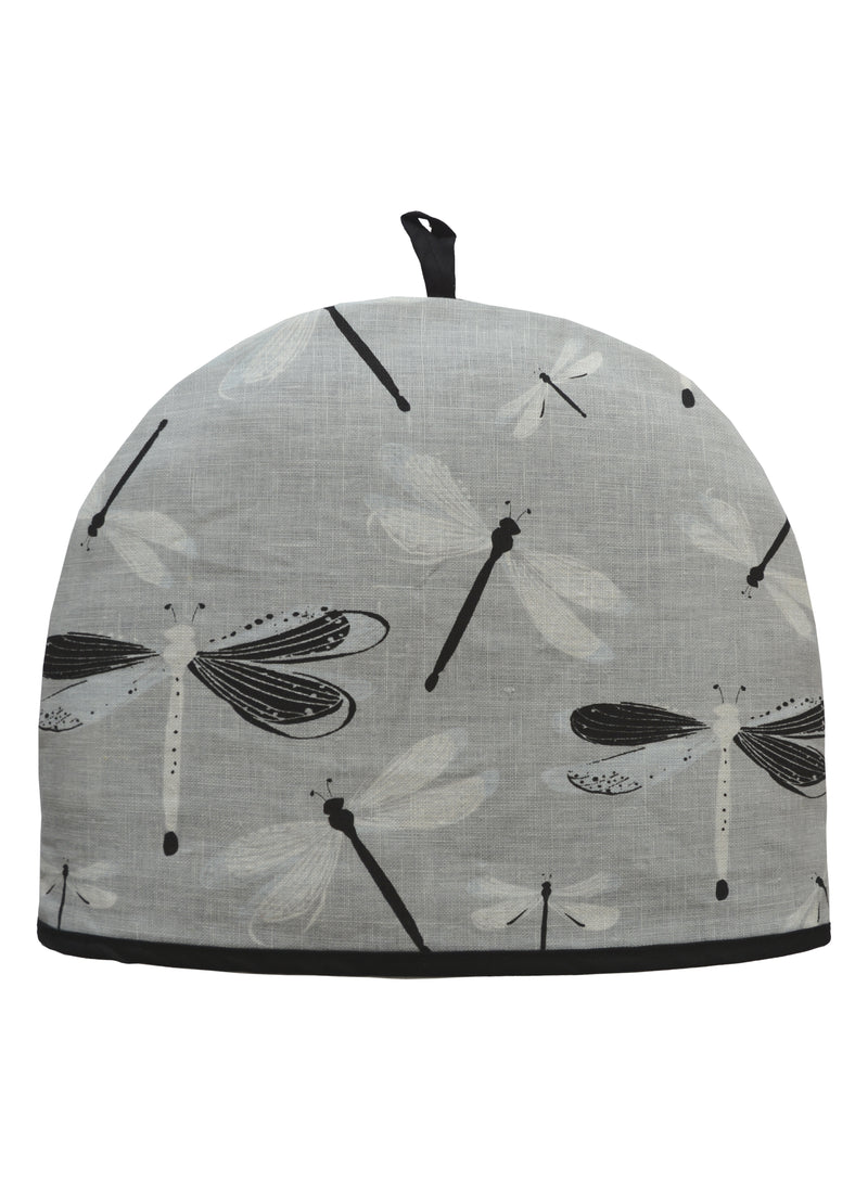 Tea Cozy Dragonfly Grey
