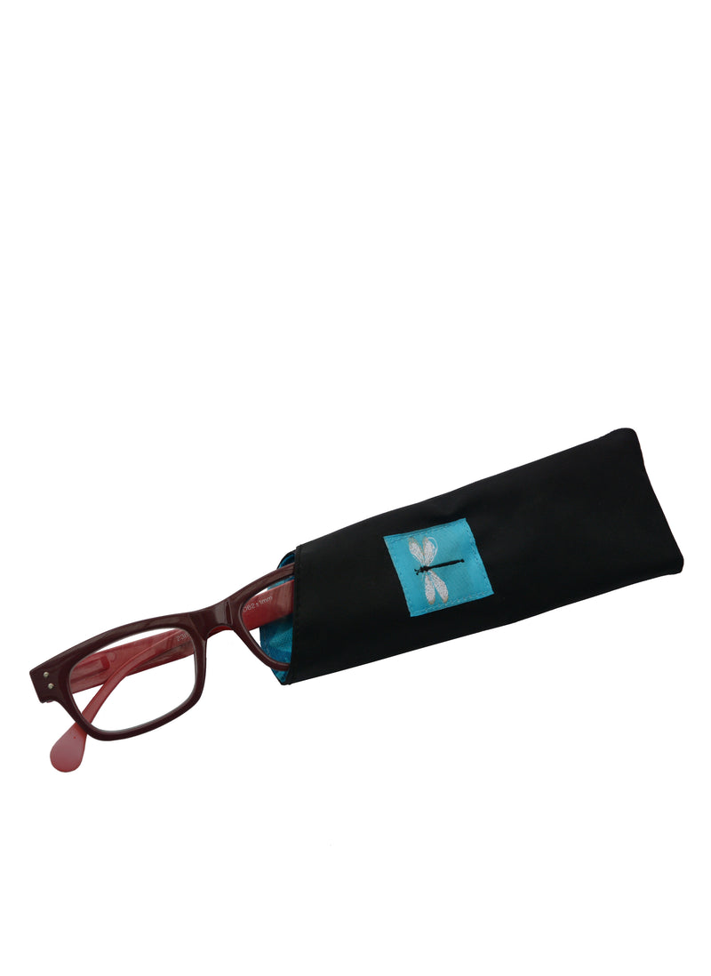 Eyeglass Cases Dragonfly Turquoise
