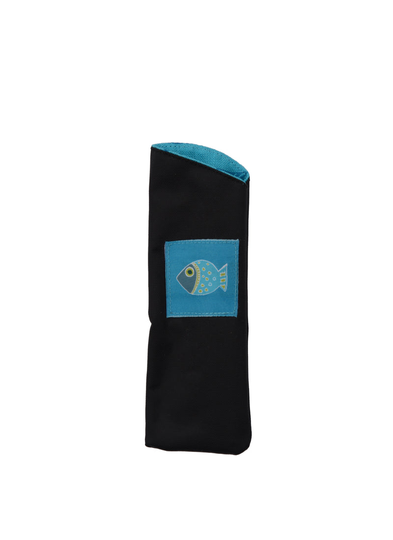 Eyeglass Cases Fish Blue