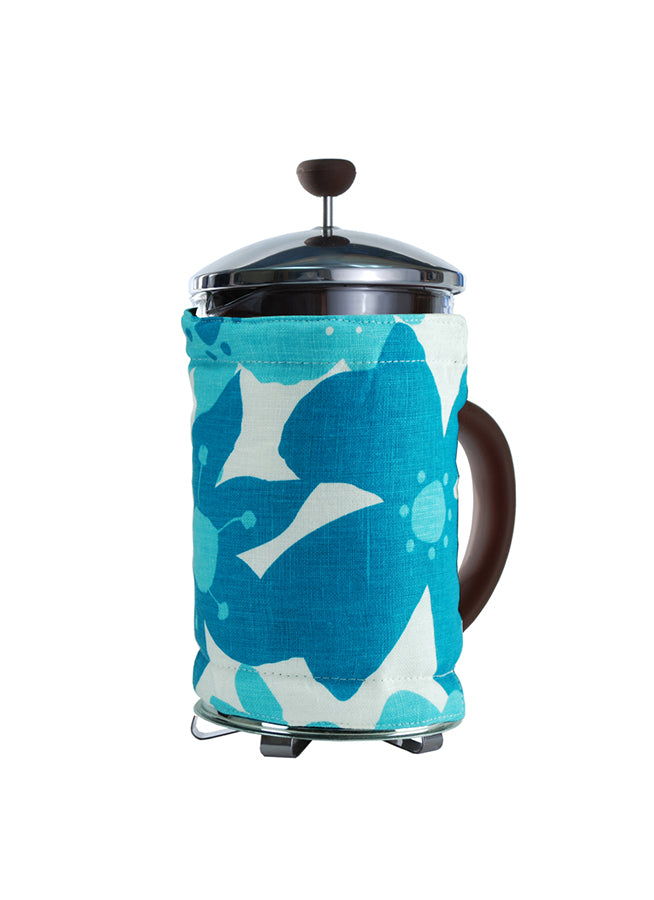 Bodum Coffee Covers Flowers Turquoise