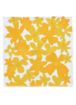 Napkins Flowers Yellow