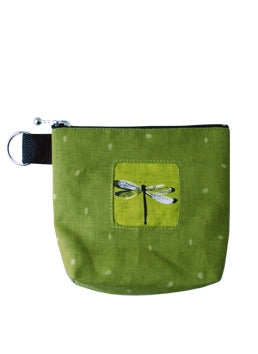 Pouch (Green Dragonfly)