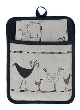 Pocket Pot Holder Oystercatcher