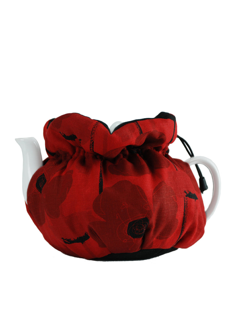 Custom Cozy Red Poppy