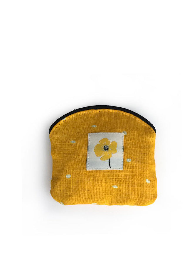 Coin Purse Poppy Yellow