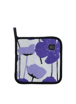 Pot Holder Purple Poppy