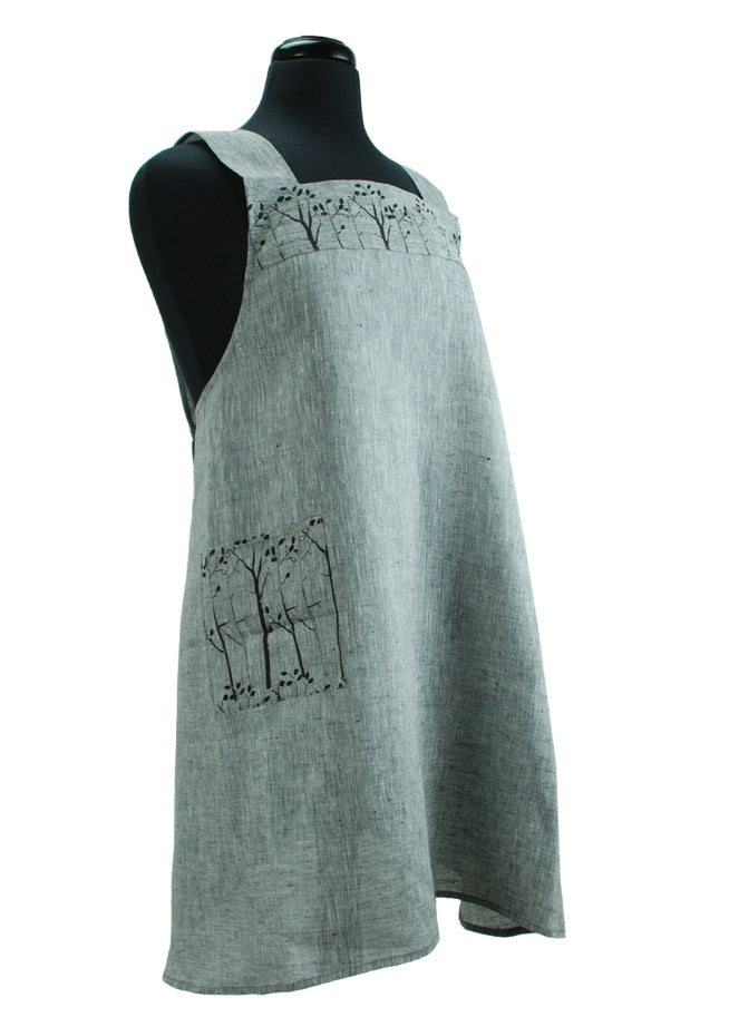 Japanese Apron Grey