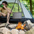 Coleman tripod grill and lantern hanger- Unbeatable for cooking around the campfire!