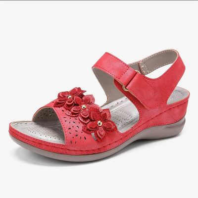 【BUY 2 FREE SHIPPING】Best Sellers 2020—Velcro Flower Sandals
