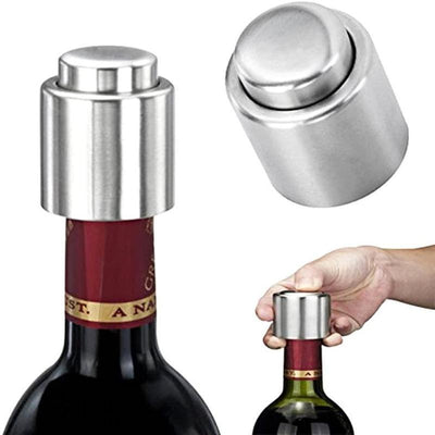 【FREE SHIPPING & 49%OFF NOW】Vacuum Stainless Steel Wine stopper - hotlingss