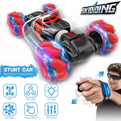 Gesture Control Double-Sided Stunt Car 2020 Upgraded Version - hotlingss