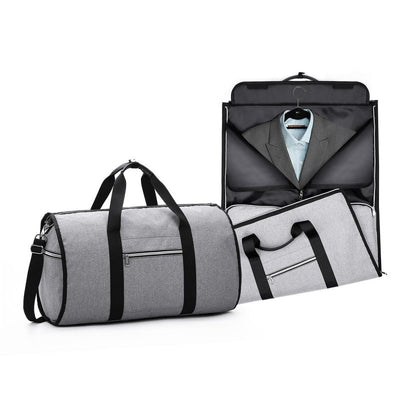 Large-capacity Folding Waterproof Suit Travel Bag Multi-function Handbag Clothing Travel Storage Bag Men's Shirt Suit Organizer