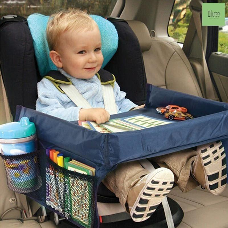 Car Seat Tray——Car storage table for children