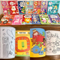 Sticker Books Collection