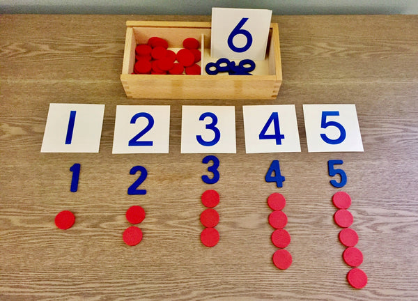 Montessori: Cards and Counters