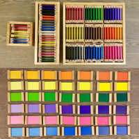 Montessori: Color Tablets