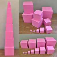 Montessori: The Pink Tower