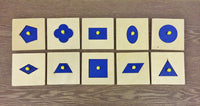 Montessori: Geometrical Shapes Puzzle