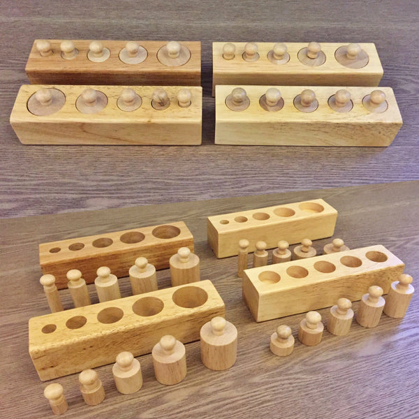 Montessori: Cylinder Blocks