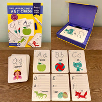 Write and Wipe Activity Cards: ABC