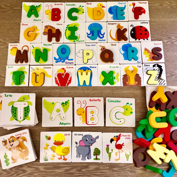 Alphabet Removable Flashcards