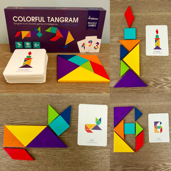 Mideer Colorful Tangram