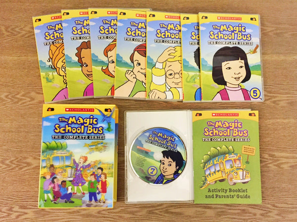 Magic School Bus Dvd Collection
