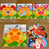 Changing Faces Jigsaw Puzzle