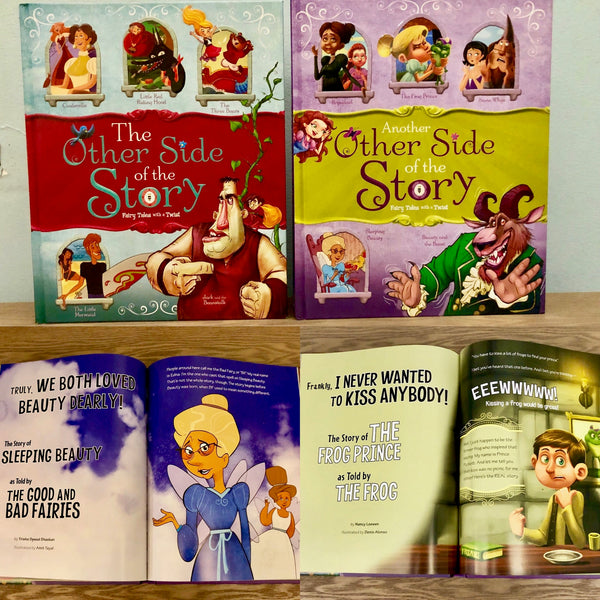 The Other Side of the Story: Fairy Tales with a Twist Set