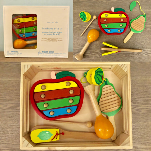 Fruit Shapes Music Set