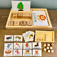 Spelling Blocks with Flashcards