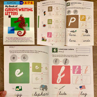 Kumon: My Book of Cursive Writing Letters