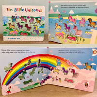 Ten Little Unicorns: A Counting Book