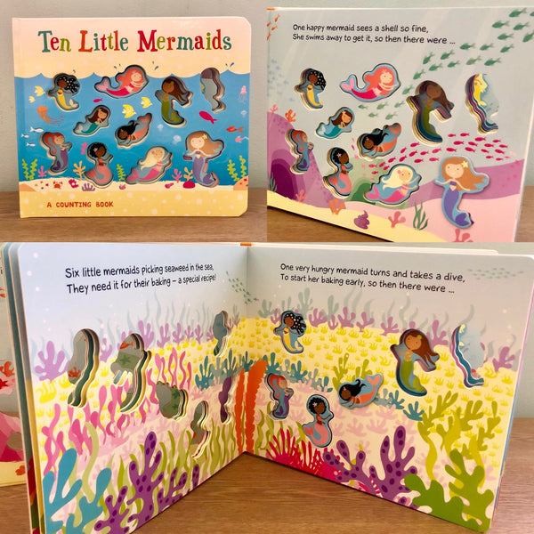 Ten Little Mermaids: A Counting Book