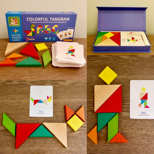 Goodcow Colorful Tangram