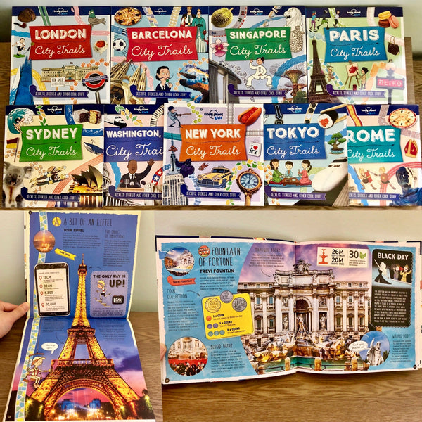 Lonely Planet Kids: City Trails Set