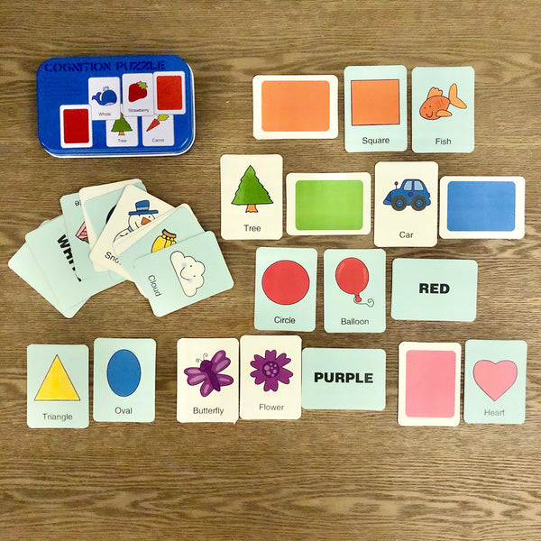 Colors and Shapes Cognition Puzzles