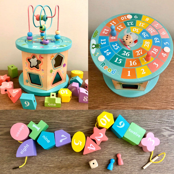 Intelligence Box with Bead Maze