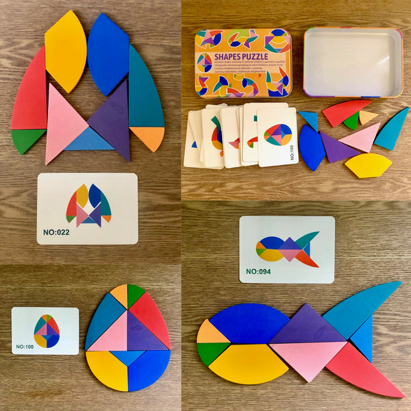 Multi-Shapes Puzzles