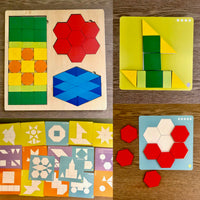 Wooden Shapes Board