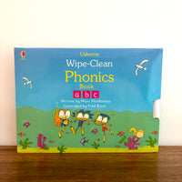 Usborne Wipe-Clean Phonics Set