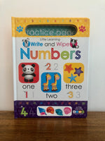 Numbers: Write and Wipe Activity Book