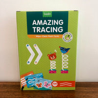 Amazing Tracing: Wipe Clean Flashcards