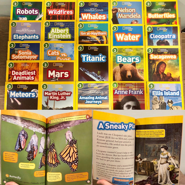 National Geographic Kids Readers: Level 3 Set