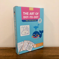 The Art of Dot-to-Dot: Wipe Clean Flashcards